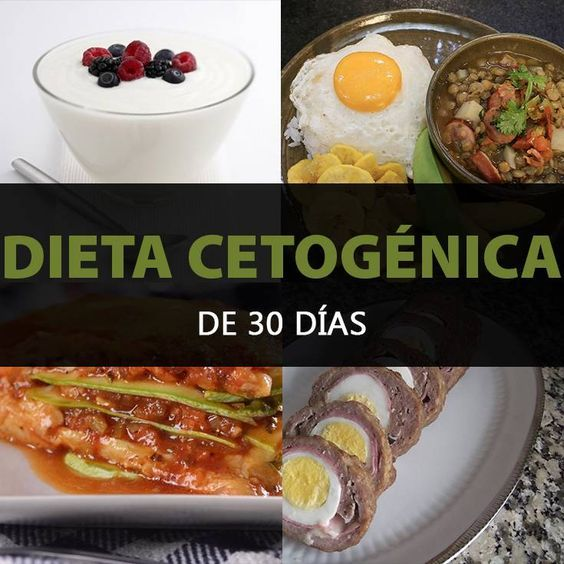 Recetas dieta cetogenica 30 dias