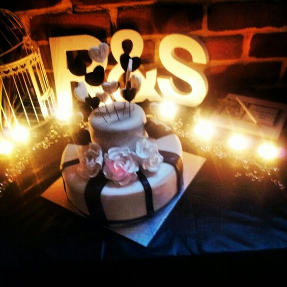 Engagement cake ❤