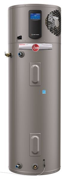 Compared to standard electric model water heaters, Rheem's Professional Prestige Hybrid Heat Pump Series can save homeowners over $4,000 in lifetime operating costs--with less than 2 years payback. The perfect choice for our Farmhouse at Emerson Green.