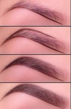Perfect eyebrows: