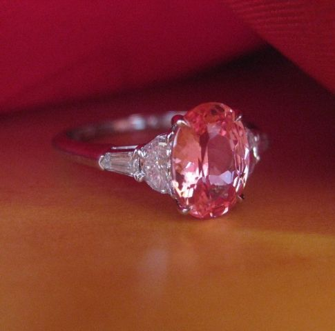 padparadscha sapphire - gorgeous!!!!