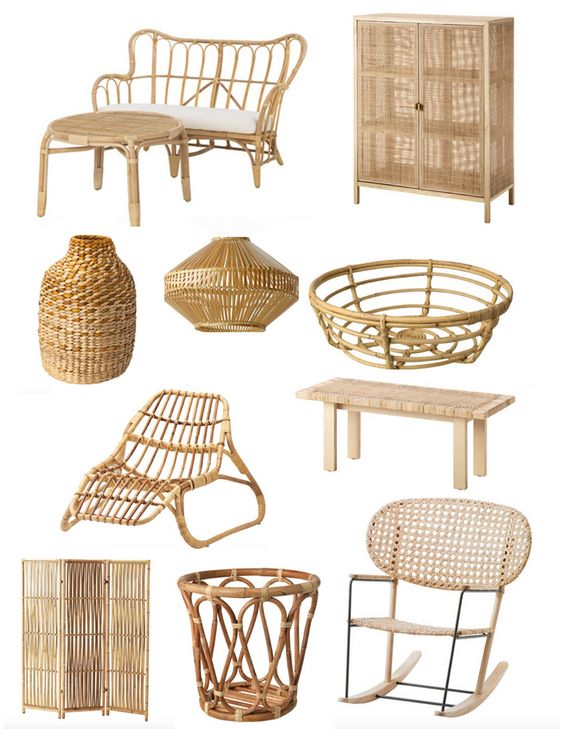 Ikea is the Answer to your Rattan Addiction