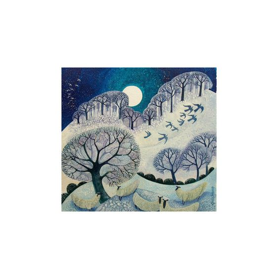 Winter Woolies Giclee Print Wall Art ($24) ❤ liked on Polyvore featuring home, home decor, wall art, giclee poster and giclee wall art