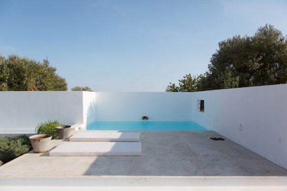 Piscinas de estilo mediterráneo de atelier Rua - Arquitectos