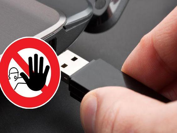 Comment verrouiller vos ports USB !