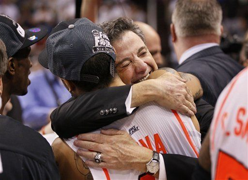 Going to the Final Four... Siva and Pitino