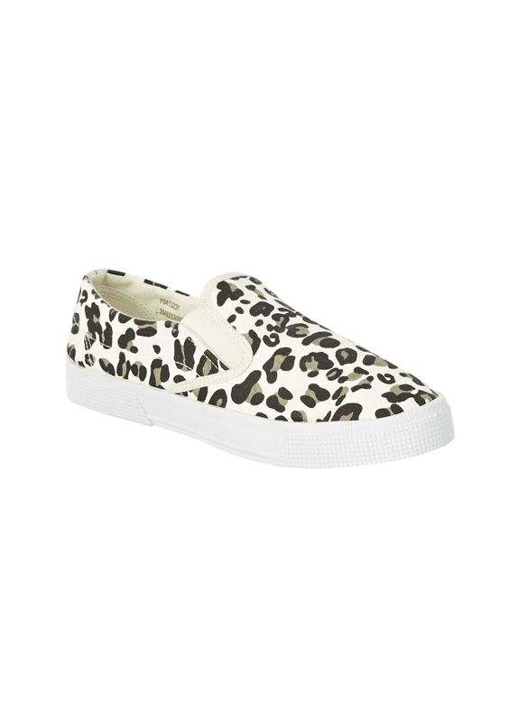 animal print canvas shoes matalan 163 10 the shoes