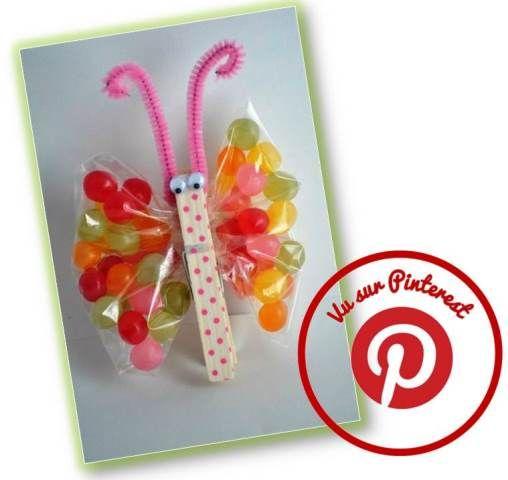 Un papillon gourmand pour maman caracolus bricolage - Cadeau pour parents a fabriquer ...