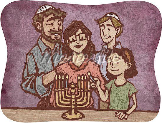 Raising Kids to Love Being Jewish