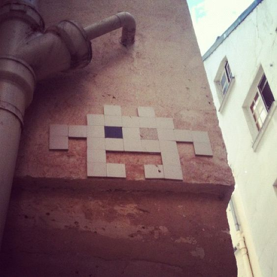 Nude Space Invader