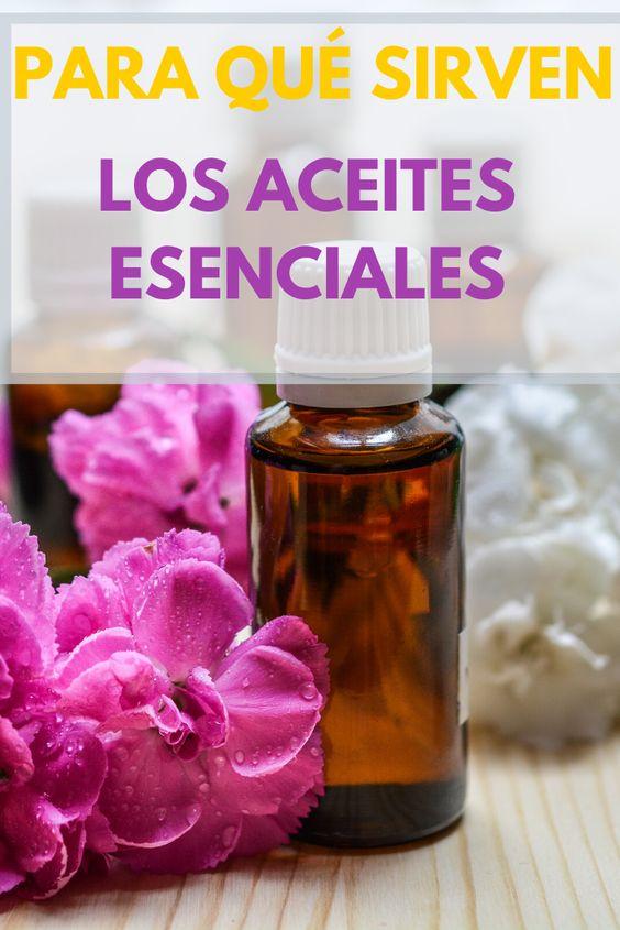 beneficios de los aceites esenciales