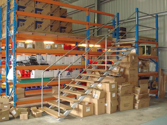 Pallet Racking Mezzanine Floor Are Built Best With The Rack N Stack Warehouse Pallet Rack Pallet House Inspiration