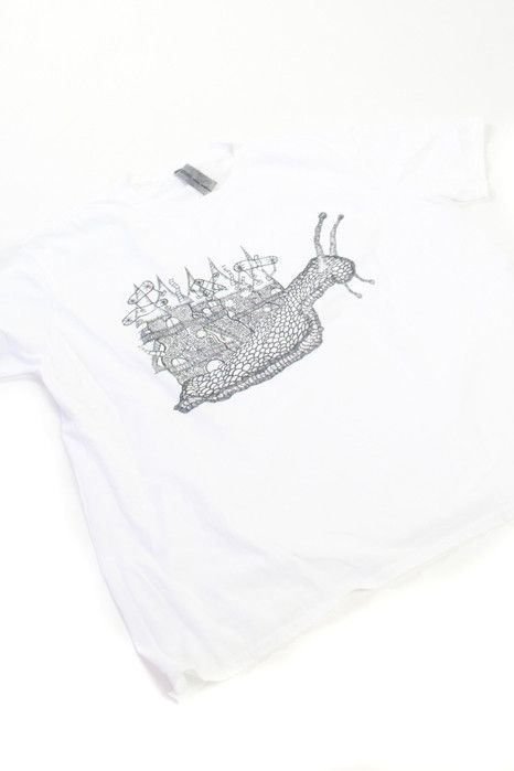 White Snail Village T-shirt