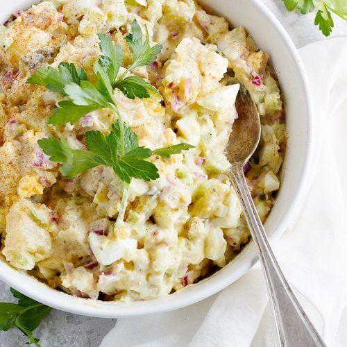 Creamy Potato Salad Recipe With Creme Fraiche