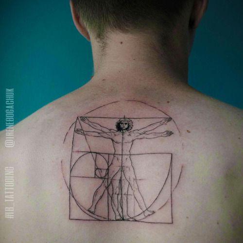 33++ Lhomme de vitruve tatouage trends
