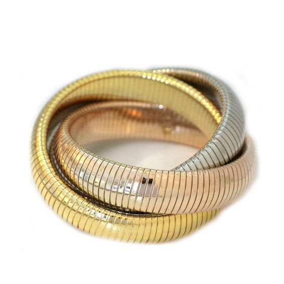 Triple Twist Bracelet