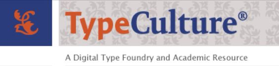 Welcome to the TypeCulture Academic Resource - an educational aid for students, educators and professionals who are seeking information about the history, design, manufacture and use of typefaces.