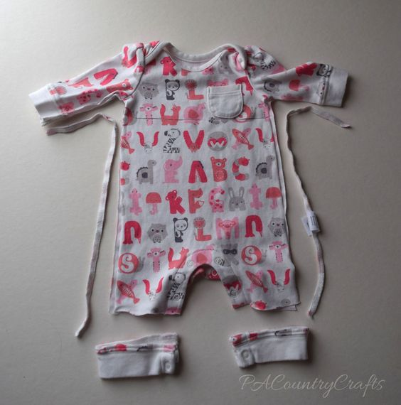 Baby Clothes Memory Bear Tutorial