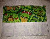 Crayon Roll Up Holder With White Pouch - Holds 8 Crayons