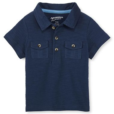 Arizona utility polo shirt boys newborn 24m jcpenney for Jcpenney ladies polo shirts