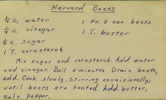 Harvard Beets | Flickr - Photo Sharing!