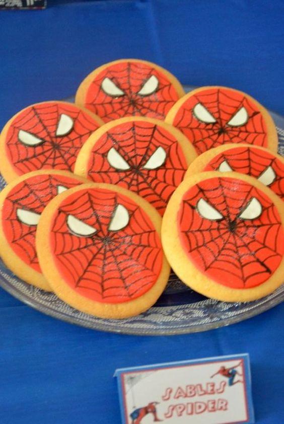 Un anniversaire de super-héros pour les 5 ans d'Evann : Spiderman