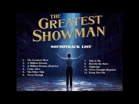 Youtube The Greatest Showman Greatful Soundtrack
