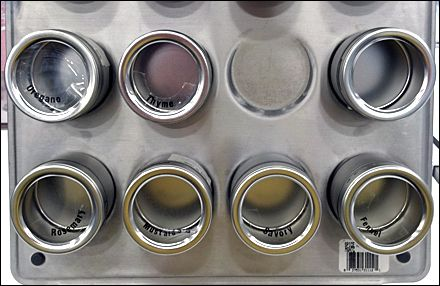 Magnetic PIllbox Containers in Chicken or Egg Fixture Conundrum