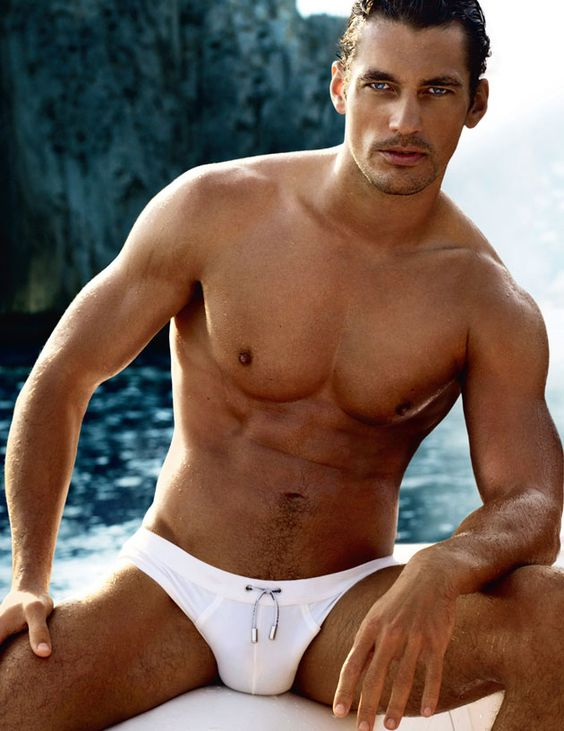 David Gandy, super viril