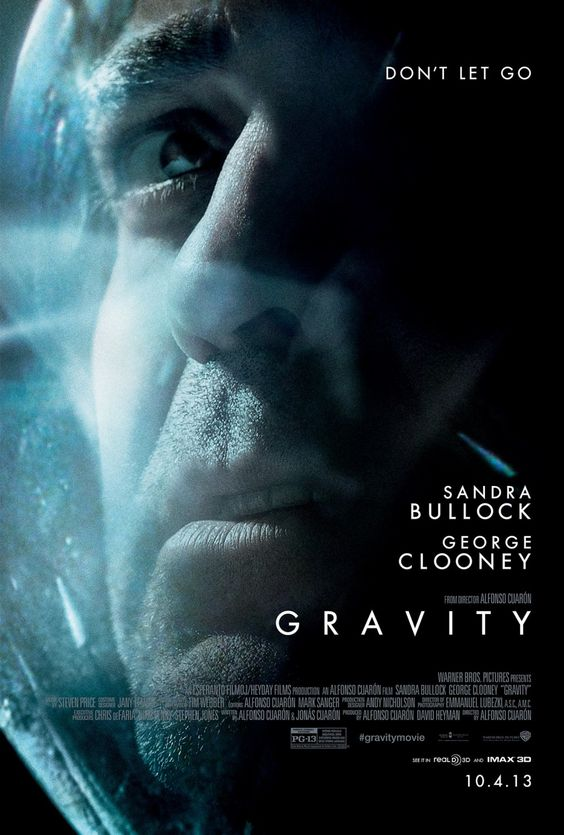 ★★★★ Gravity (2013) | Sandra Bullock, George Clooney | Dir: Alfonso Cuarón -- Clearly one of the best movie of 2013. Stellar performance by Sandra Bullock.: