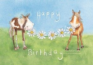 Horse & Country Greeting Cards | Stickybud Cards Horse Pony And Country…: