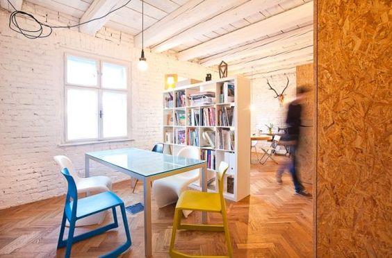 spanplatten schrank küche homeoffice büro modern bunt möbel