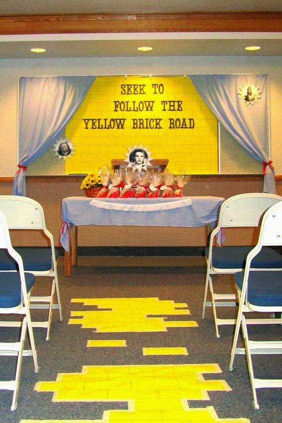 . Fazendo meu Progresso Pessoal: Ideia de Noite dos Padrões: Siga a Estradas dos Tijolos Amarelos