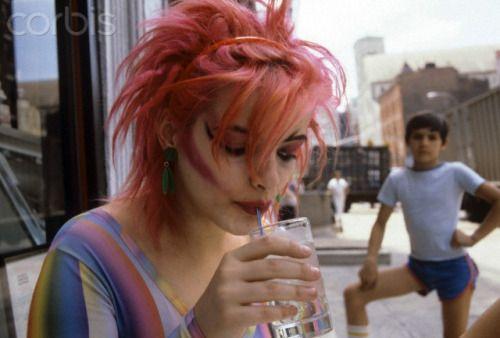 Nina hagen NYC 1980.