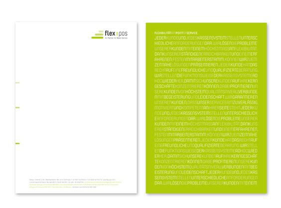 FlexPos Briefpapier