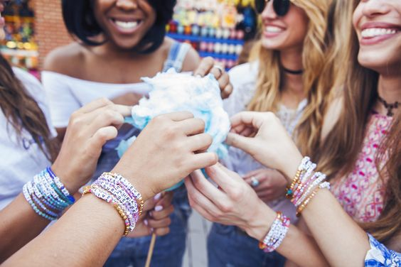 Visit www.littlewordsproject.com for your own word bracelet! Friends who wear Little Words together, stay together.