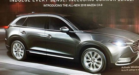 New 2016 Mazda CX-9 SUV: This Is It!