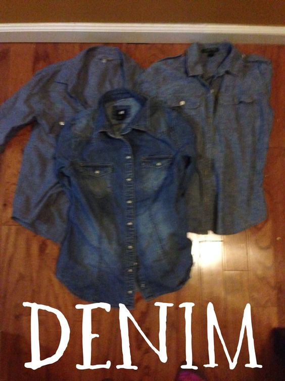 ABSOLUTELY in love with denim.