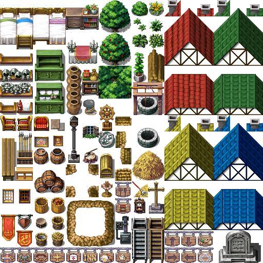 Maker Studio Rpg Tilesets Png Image 512 Pixels Pinterest And Background
