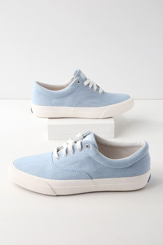 Anchor Chambray Light Blue Sneakers