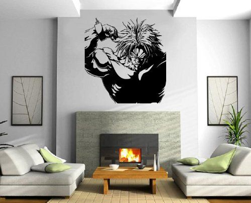 Dragon ball z wall decals dragon ball z dbz vegeta wall for Decoration dragon ball