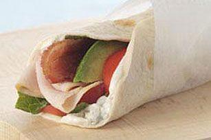 Turkey Cobb Wraps recipe