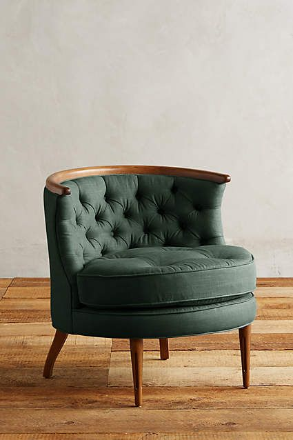 Linen Bixby Chair - anthropologie.com: