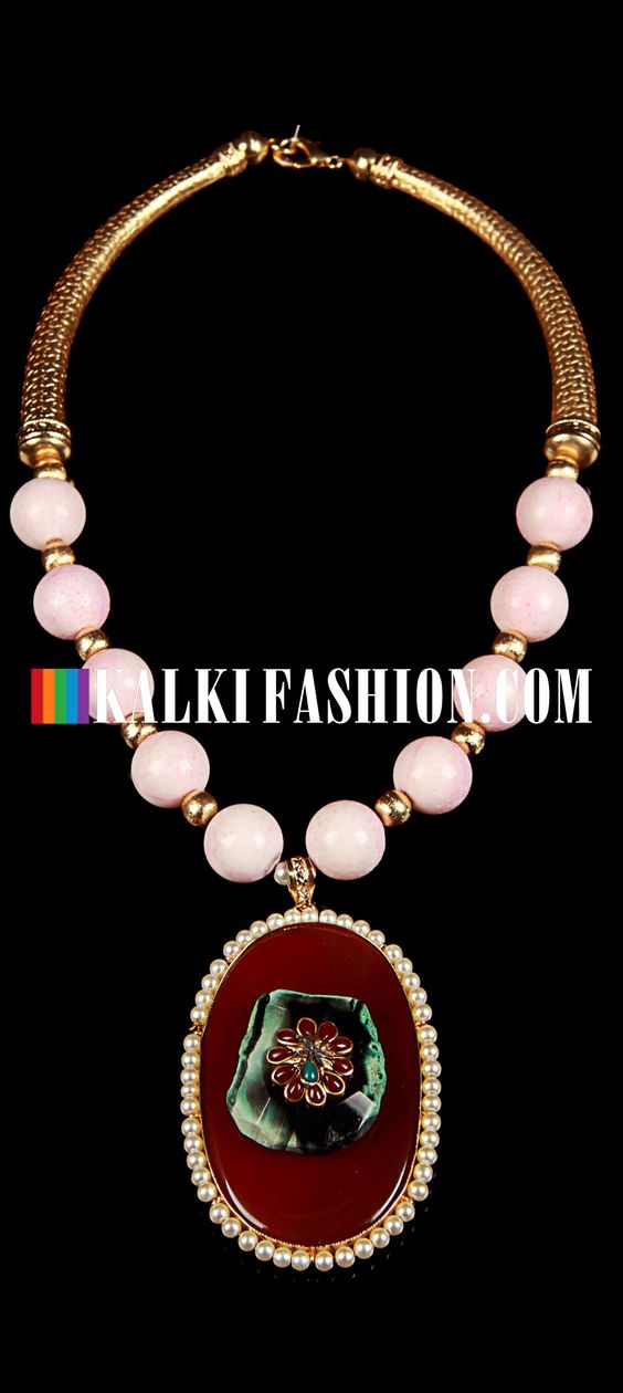 Buy Online from the link below. We ship worldwide (Free Shipping over US$100) http://www.kalkifashion.com/agate-pendent.html Agate pendent