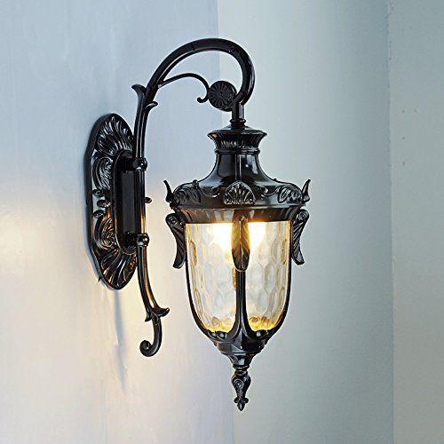 71 19 Kmyx Waterproof Ip44 Garden Light Vintage Wall Lantern