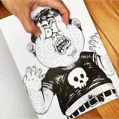 Las Alucinantes Y Sorprendentes Ilustraciones Que Luchan Con Su Creador