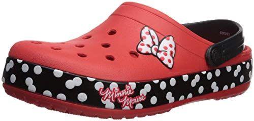 Crocs Kids Boys and Girls Crocband Disney Minnie Mouse Clog