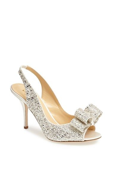 'Charm' glitter pumps from Kate Spade