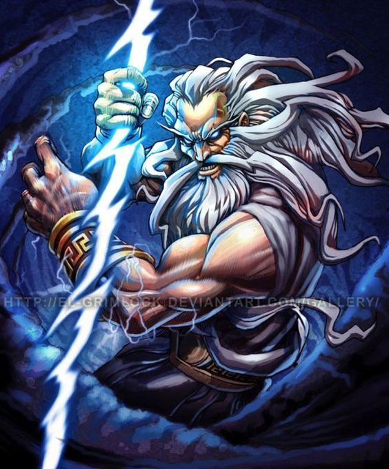 Zeus, ゼウス, 宙斯, Зевс, Δίας, deus, jupiter | A Fênix de Fogo                                                                                                                                                     More