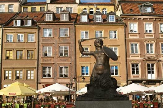 The Mermaid is the symbol of #Warsaw, #Poland